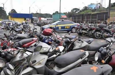 PRF abre leilão de mais de 1,2 mil veículos em Rondônia