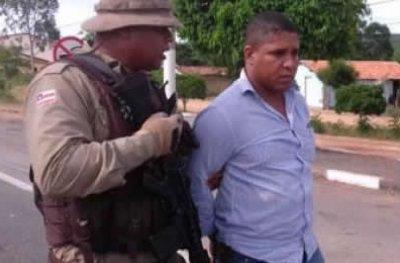 Ex-morador de Ouro preto baiano do chapéu e preso na região de Seabra-BA.