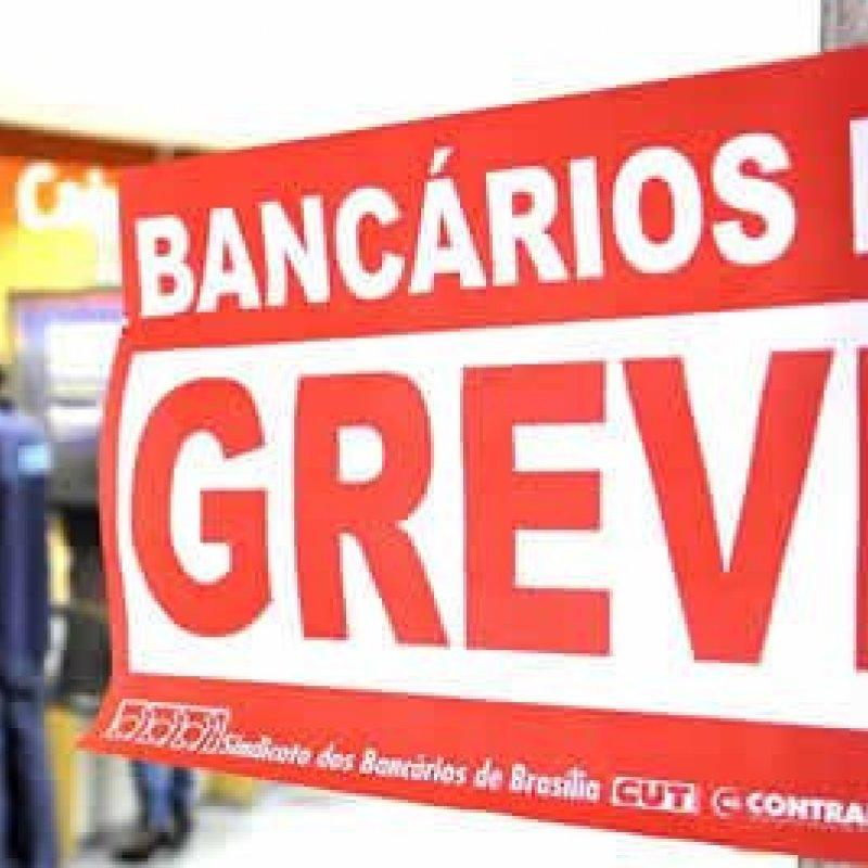 Bancários de todo o país entrarão em greve na segunda-feira