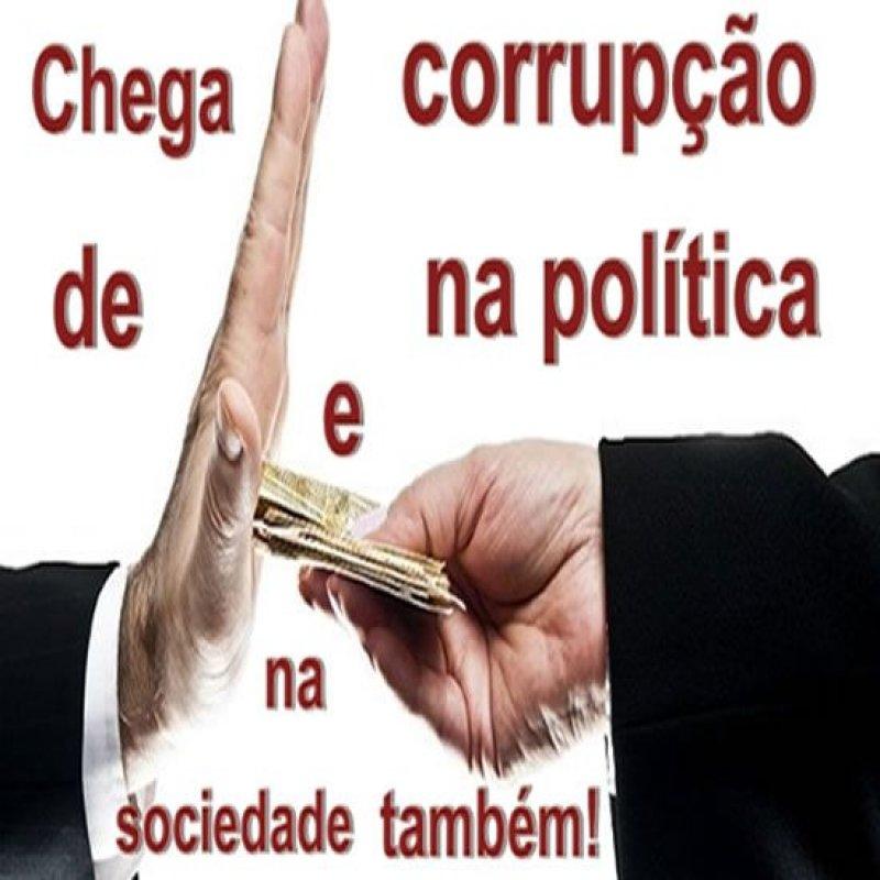 E por falar em corrupção...