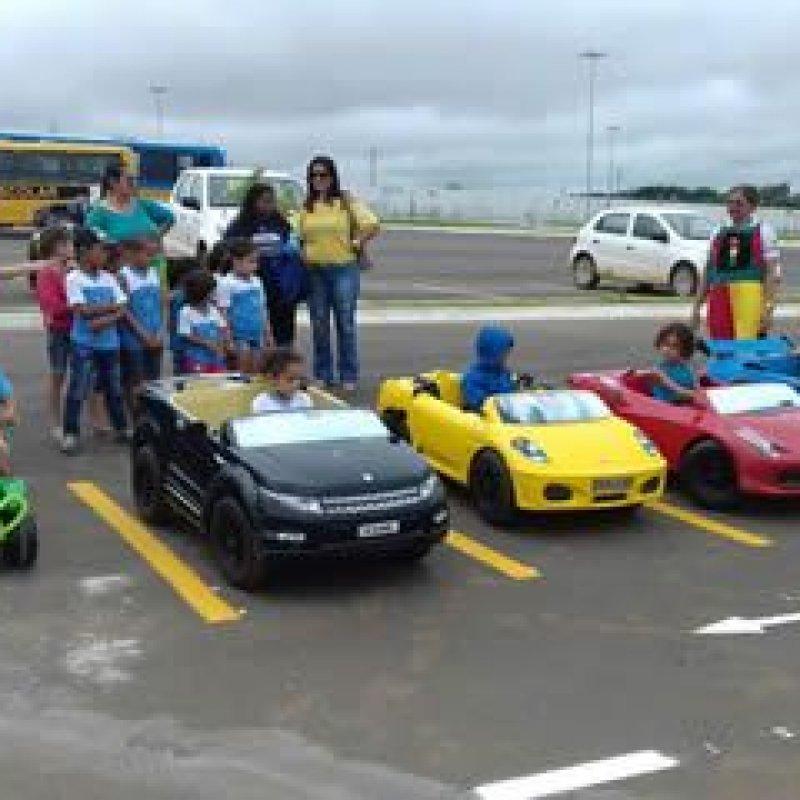 Ouro Preto: 7ª Ciretran promove ação educativa a 200 crianças na Minicidade de Trânsito