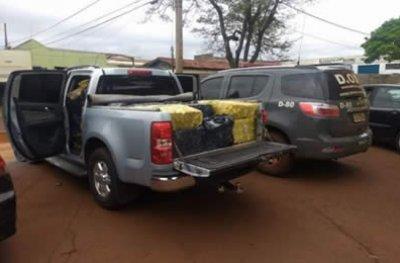 Morador de PVH é preso com mais de uma tonelada de maconha no Mato Grosso do Sul