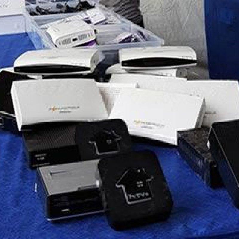 Receita destruiu 100 mil decodificadores em combate à pirataria na TV paga