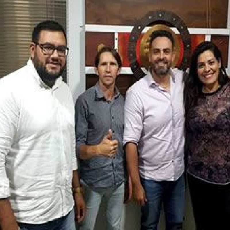 Presidente da Câmara de Vereadores de Ouro Preto cumpre agenda na capital