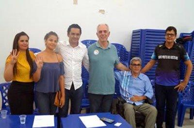Encontro do PSB reúne lideranças locais em Ouro Preto do Oeste