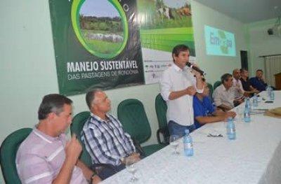 Marcelino destaca a importância do II Simpósio Manejo Sustentável das Pastagens