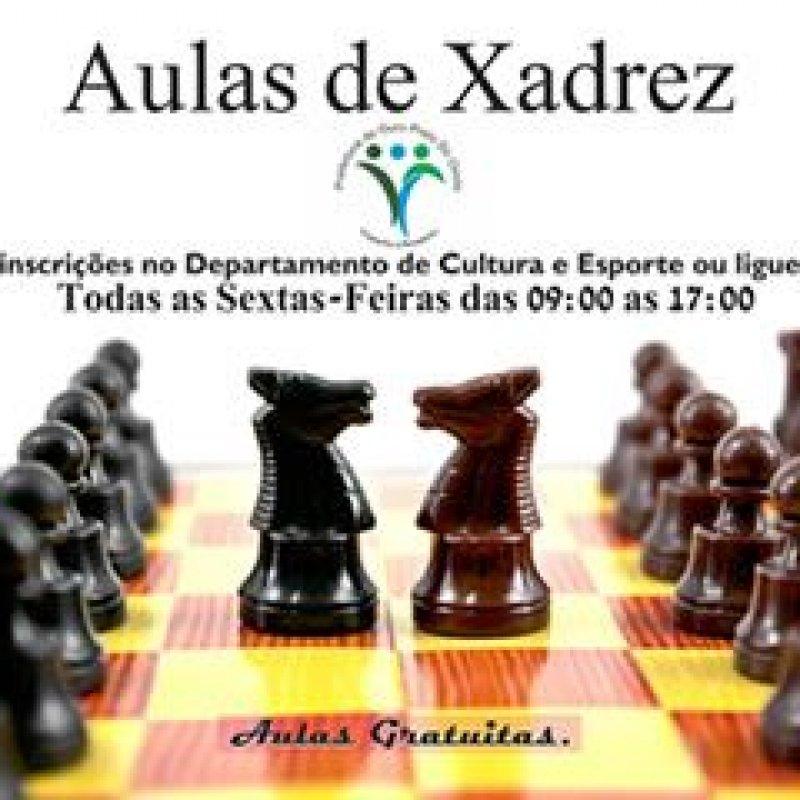 Prefeitura oferece aulas gratuitas de xadrez e dama para crianças de Ouro Preto