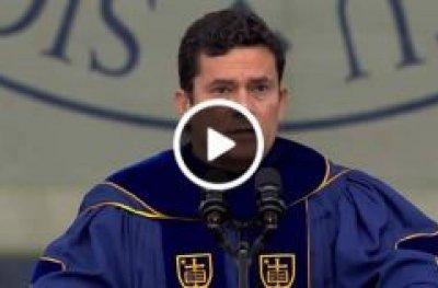 Ninguém está acima da lei, diz Moro em discurso de formatura nos EUA