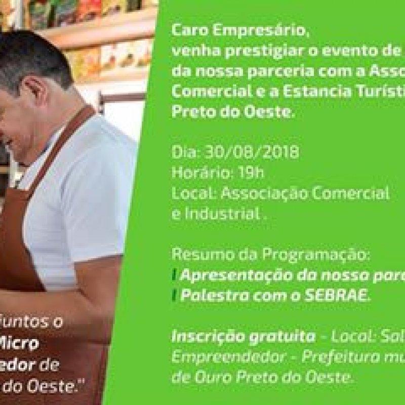 Projeto busca incentivar o crescimento do ME e MEI em Ouro Preto do Oeste