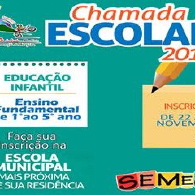 Ouro Preto: SEMECE abre Chamada Pública Escolar para período letivo de 2019