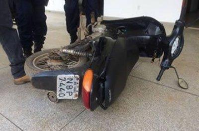 Ouro Preto: PM apreendeu motoneta adulterada conduzida por menor
