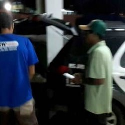 Sentindo-se ameaçado, homem aciona a polícia e acaba preso por ser foragido