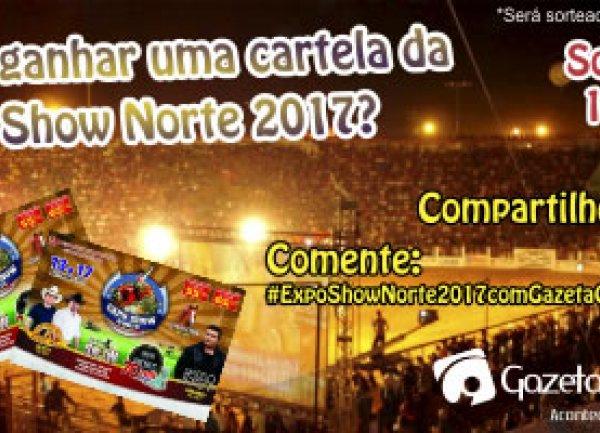 Promoção Cartela da Expo Show Norte 2017