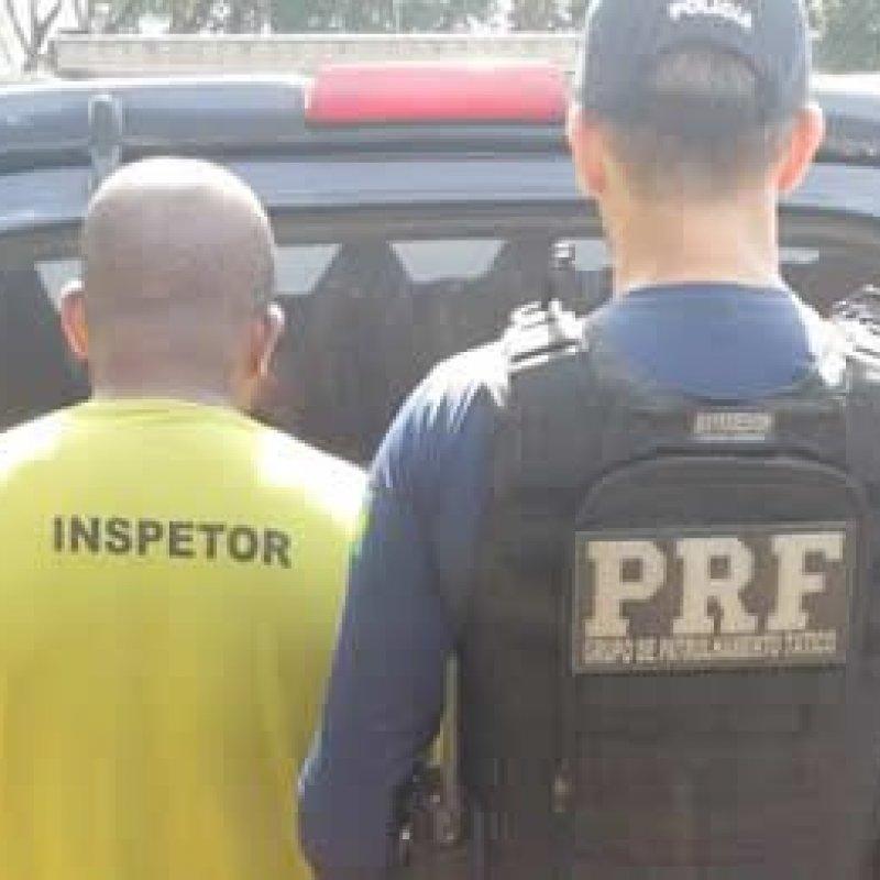 PRF cumpre mandado de prisão de foragido com moto de Teixeirópolis em Jaru