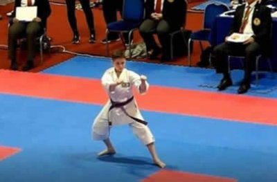 Vilhenense de 11 anos disputa Mundial de Karate na Escócia
