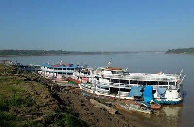 Nível do Rio Madeira recua 11 metros em três meses em Porto Velho