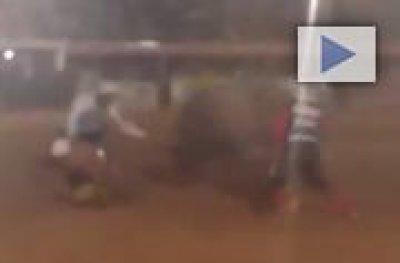 Peão morre após ser pisoteado por touro em rodeio em MT