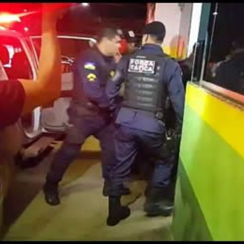 Policial militar é baleado em tentativa de assalto