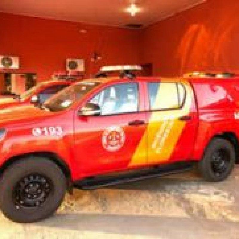 Corpo de Bombeiros Militar de Ouro Preto do Oeste recebe nova viatura