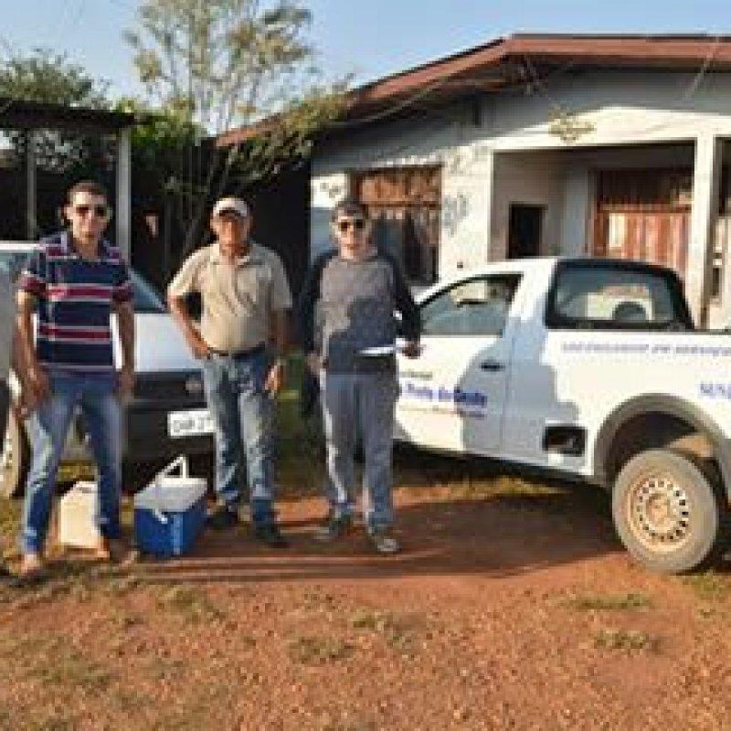 Vacinação antirrábica é intensificada em cães e gatos da zona rural de Ouro Preto do Oeste