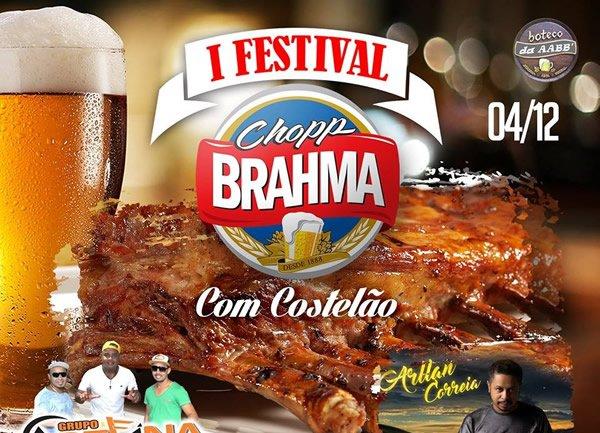 I Festival Chopp Brahma com Costelão