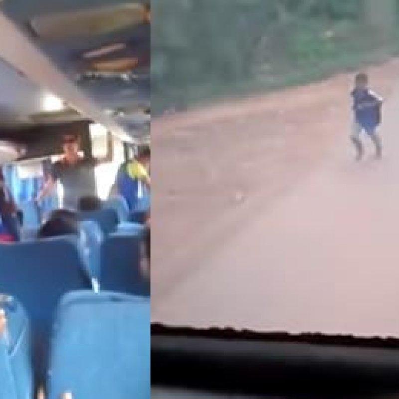 Em vídeo, monitora de ônibus escolar abandona criança 20KM antes da residência