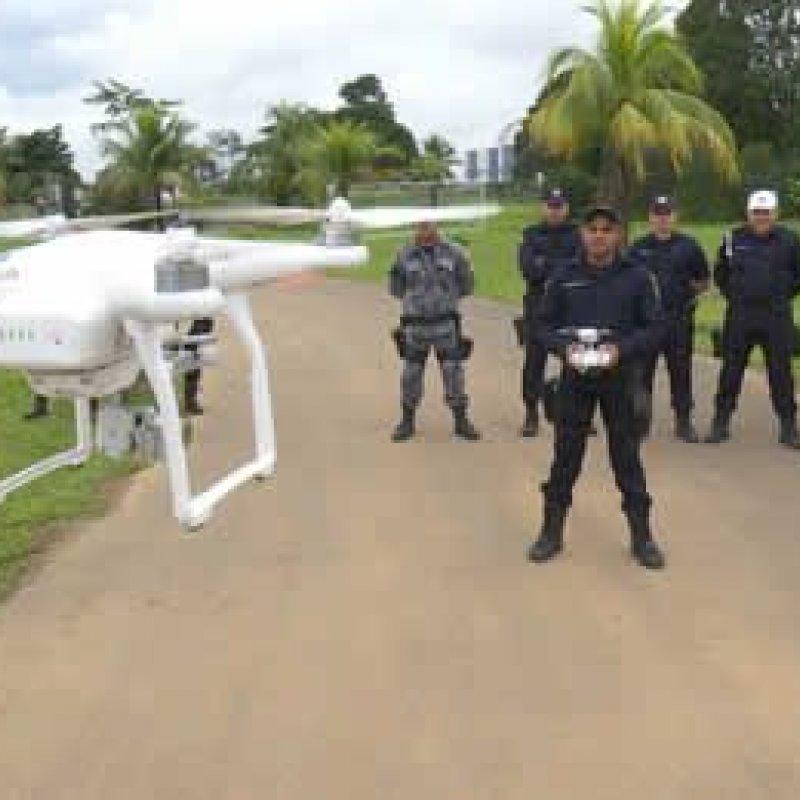 PM recebe drones para auxiliar no combate de crimes em Ariquemes
