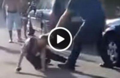 Vídeo mostra segurança sendo agredida em festa