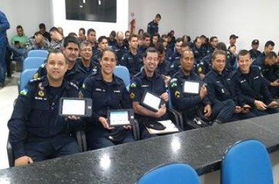 Policiais militares de Ouro Preto participam de capacitação no sistema PM-RO Mobile
