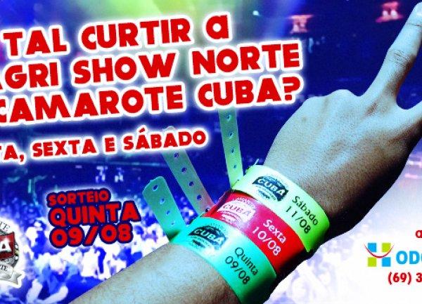 CAMAROTE CUBA - 8ª AGRI SHOW