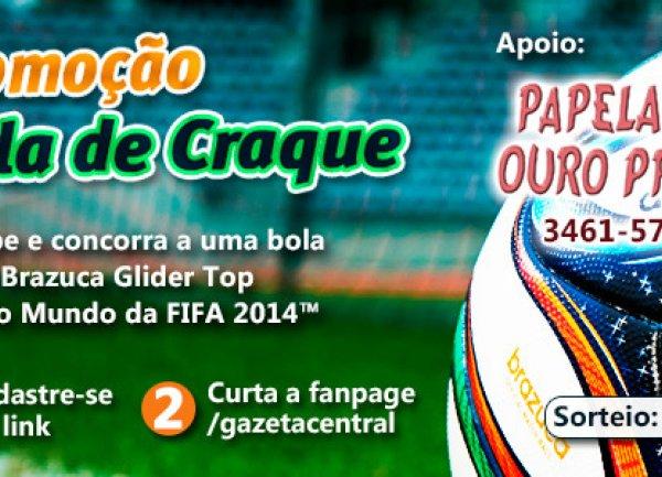 Bola Adidas Brazuca Fifa 2014