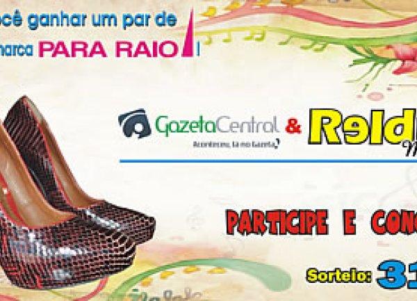 1 par de sapatos da marca Para Raio!
