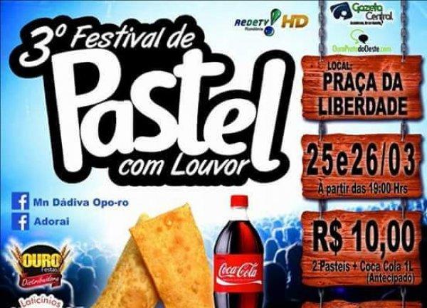 3º Festival de Pastel com Louvor
