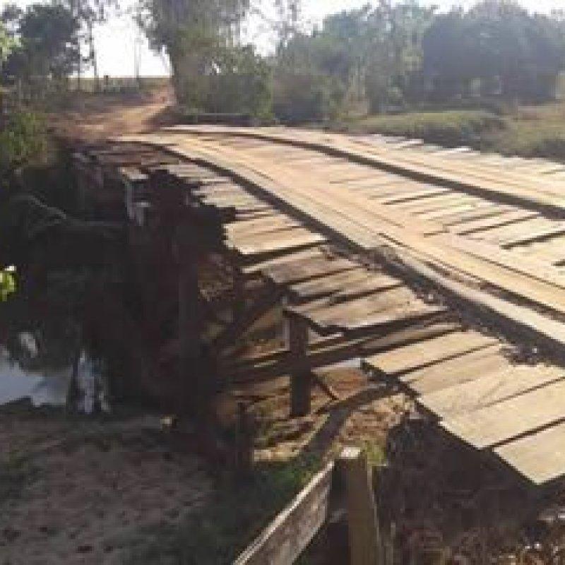 Mais duas pontes serão construídas na zona rural de Ouro Preto do Oeste
