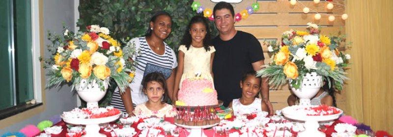 Festa de aniversário de 7 aninhos da Maria Cecília