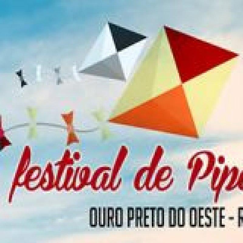 Ouro Preto do Oeste realiza o 2° Festival de Pipas