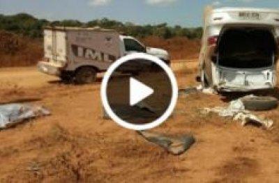 Homem com arma da policia do amazonas morre em capotamento na capital