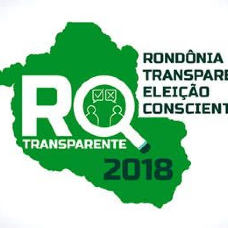"""TCE, MPC e TRE lançam """"Rondônia Transparente, Eleição Consciente"""""""