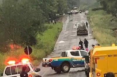 Motociclista tem perna arrancada e morre após trágica colisão contra caminhão leiteiro na RO-470