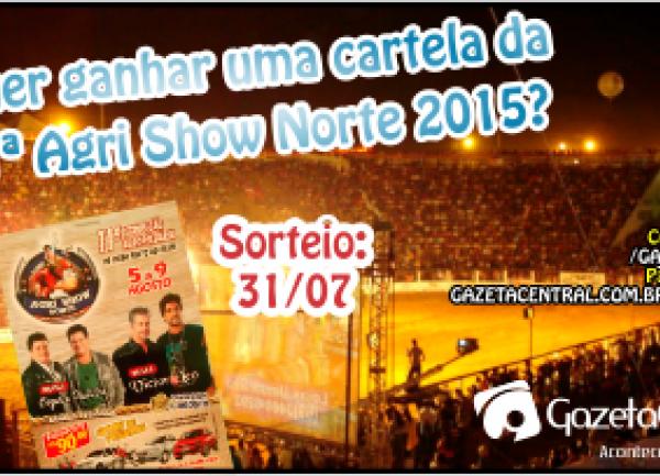 Promoção Cartela Agri Show Norte 2015
