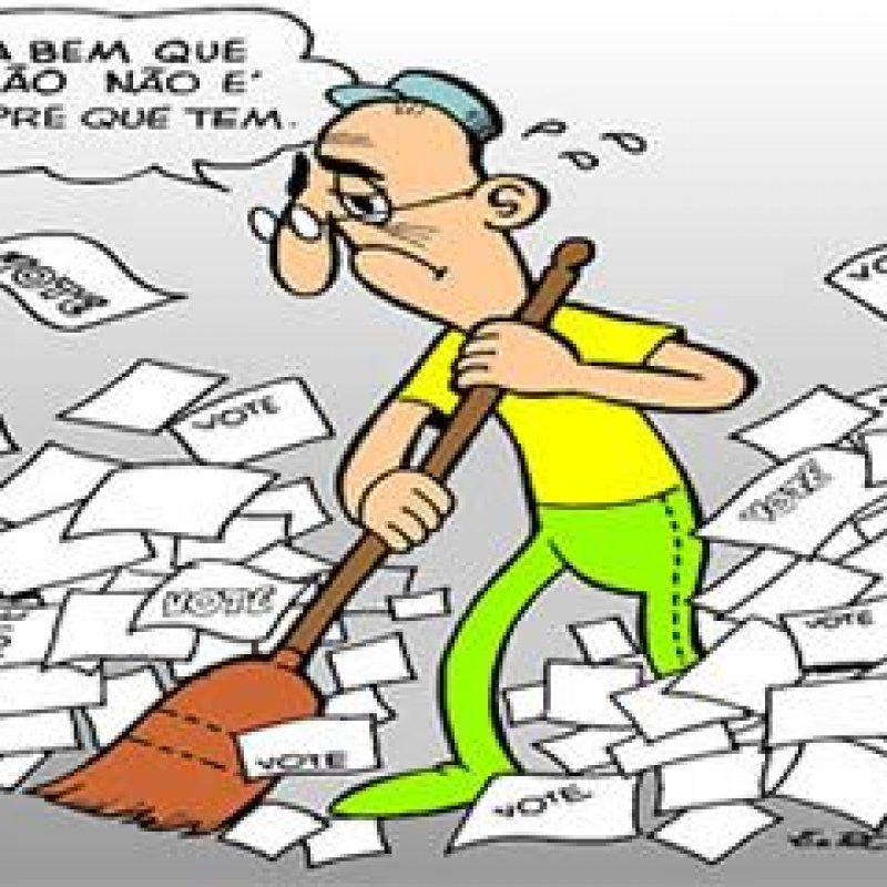 PT é condenado a pagar danos morais coletivos por espalhar santinhos nas eleições