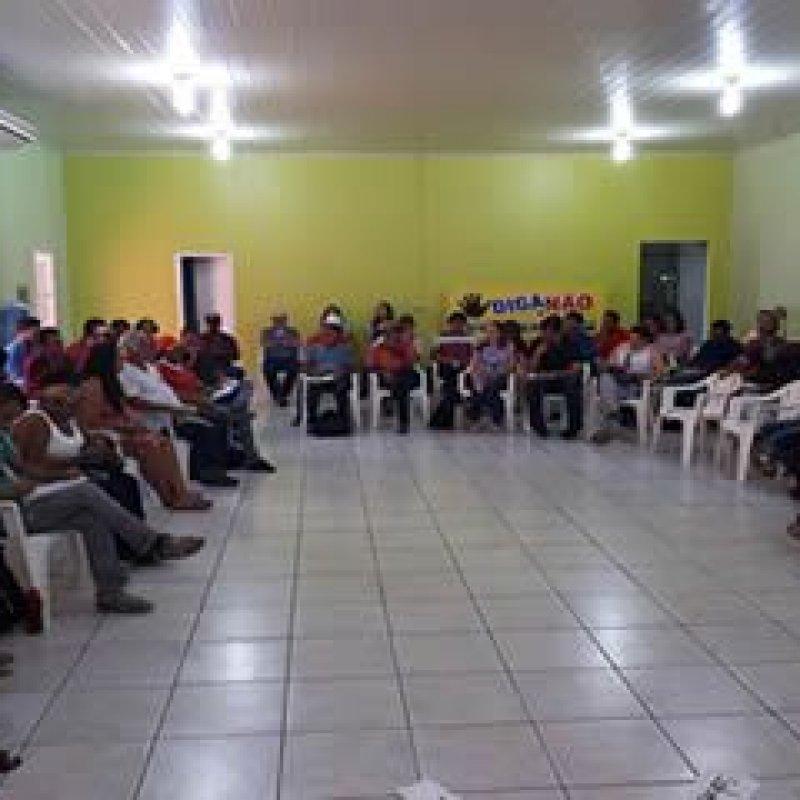 Rosária Helena participa de encontro suprapartidário da Frente Brasil Popular, em Ji-Paraná
