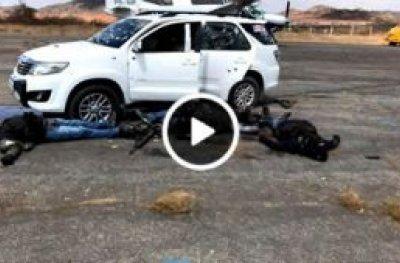 Tentativa de assalto a avião pagador em Salgueiro (PE) deixa seis mortos
