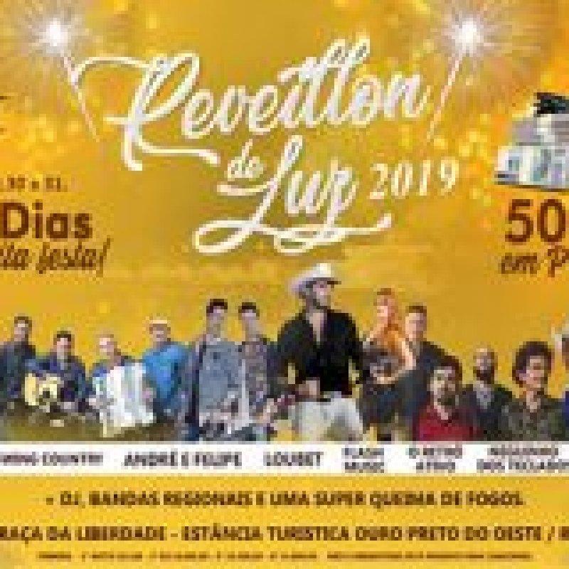 Ouro Preto: começa amanhã as festividades do Réveillon da Luz 2019