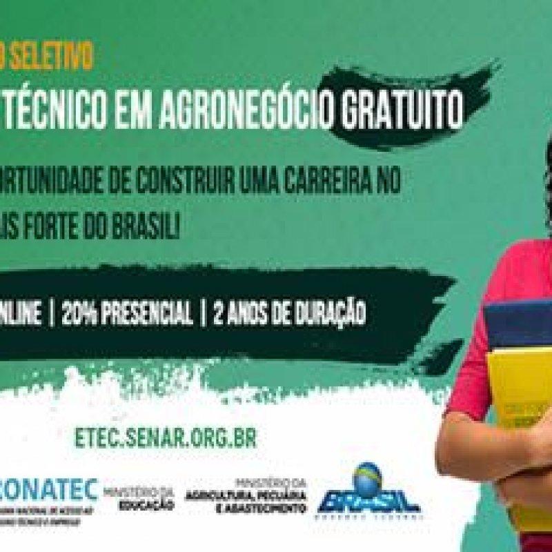 Ouro Preto: SENAR divulga aprovados para o curso técnico em Agronegócio