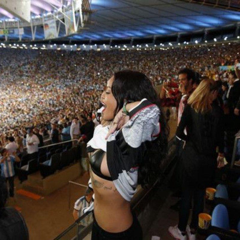 Famosos assistem à vitória da Alemanha na final da Copa