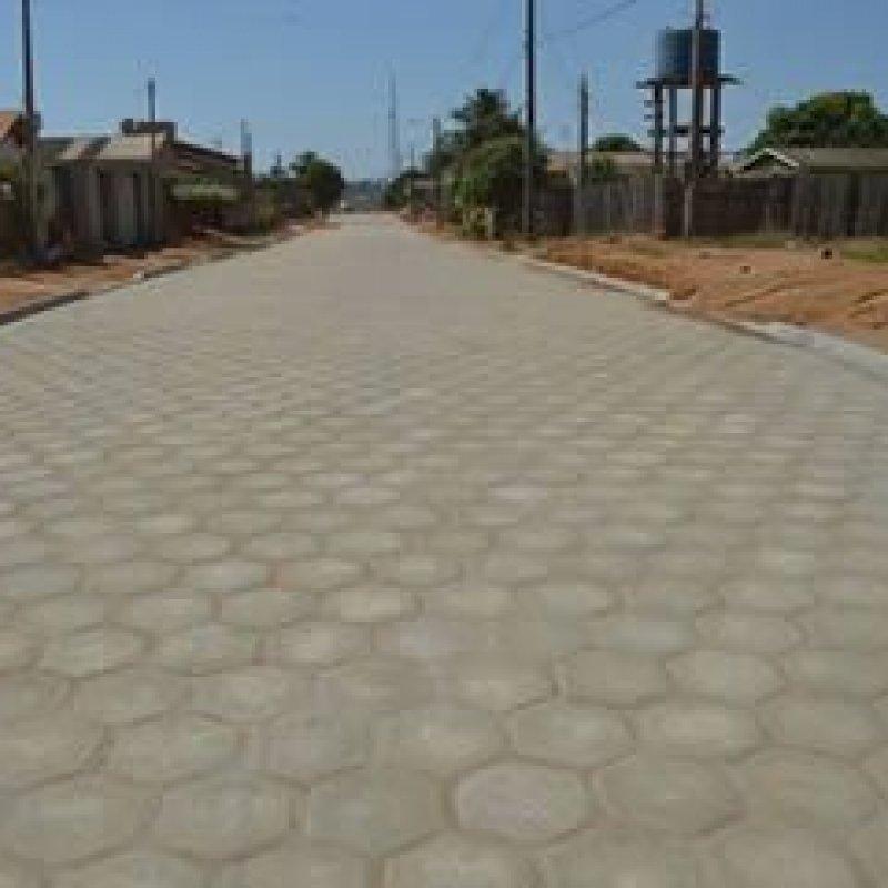 Confira os trechos das 31 ruas que serão pavimentadas em Ouro Preto do Oeste