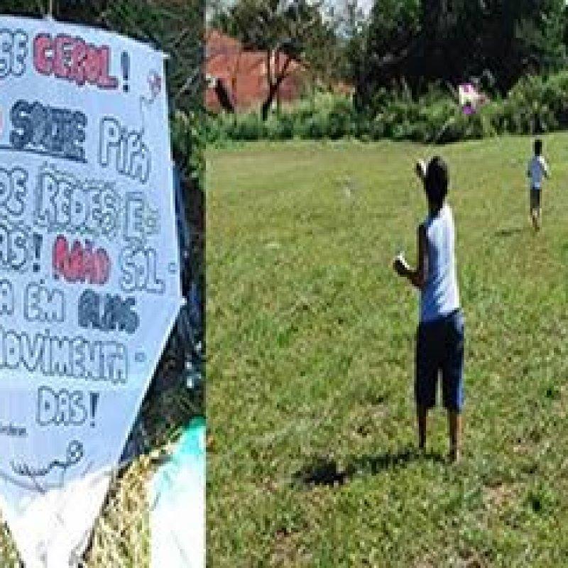 Eletrobras Rondônia alerta para o perigo das brincadeiras com pipas nas férias