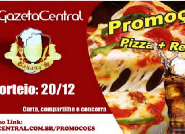 Pizza + Refrigerante Bacanas