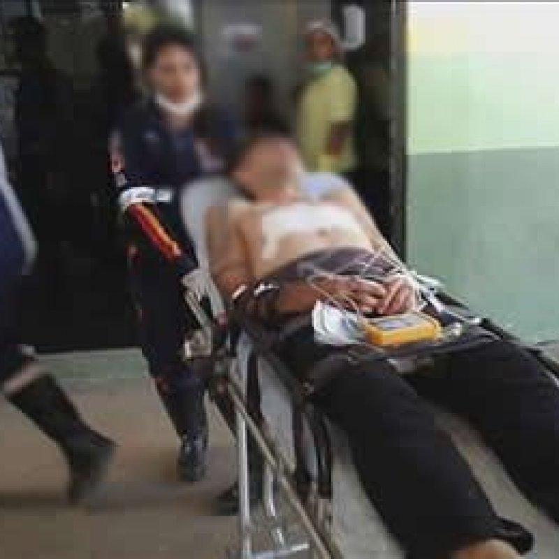 Policial militar é apunhalado no peito, em Porto Velho